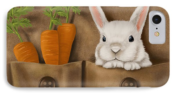 Rabbit Hole IPhone 7 Case by Veronica Minozzi