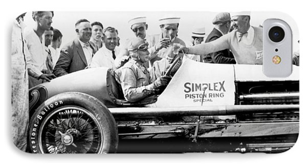 Race Car Driver Ray Keech IPhone Case by Underwood Archives