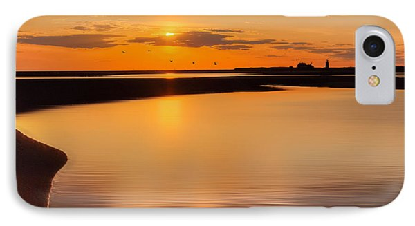 Race Point Silhouette IPhone Case by Bill Wakeley