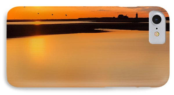 Race Point Silhouette Square IPhone Case by Bill Wakeley