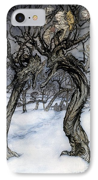 Rackham: Whisper Trees Phone Case by Granger