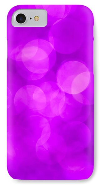 Radiant Orchid Abstract Phone Case by Jan Bickerton