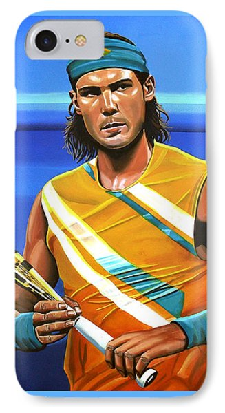 Rafael Nadal IPhone Case by Paul Meijering