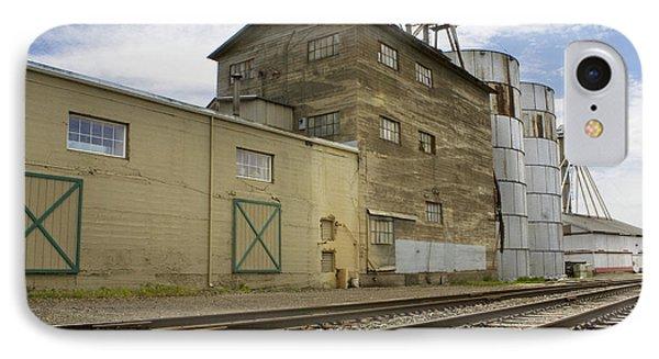 Railway Mill Phone Case by Sonya Lang