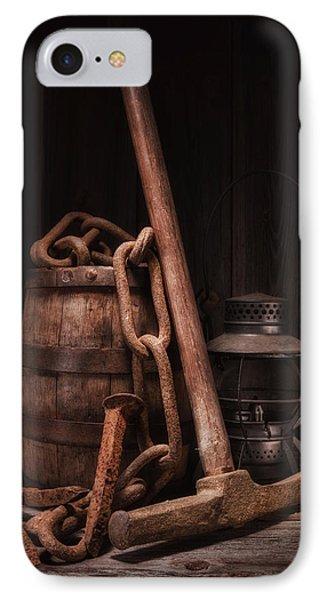 Railway Still Life IPhone Case by Tom Mc Nemar