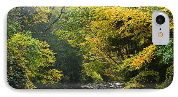 Rain Gauley River Headwaters IPhone Case by Thomas R Fletcher