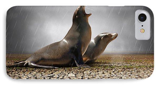 Rain Relief IPhone Case by Carlos Caetano