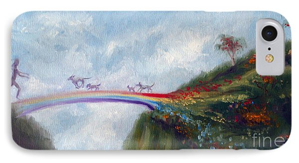 Rainbow Bridge IPhone Case by Stella Violano