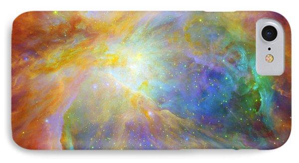 Rainbow Orion Phone Case by Georgia Fowler
