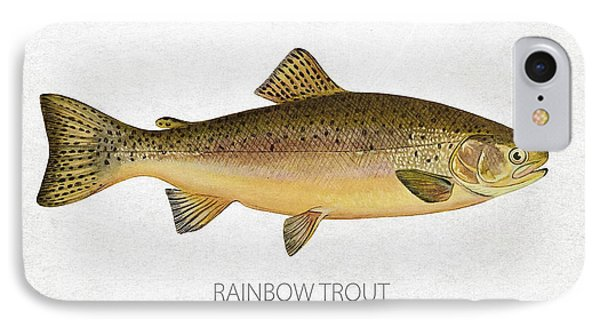 Rainbow Trout IPhone Case by Aged Pixel