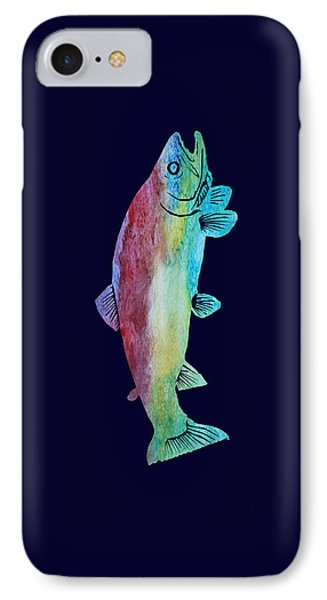 Rainbow Trout IPhone Case by Jenny Armitage