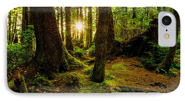 Rainforest Path IPhone Case by Chad Dutson