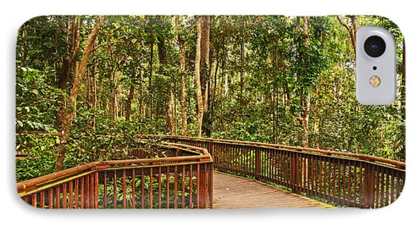 Rainforest Walkway Phone Case by Bob and Nancy Kendrick