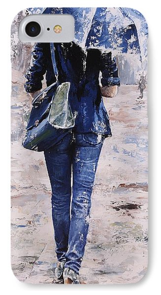 Rainy Day #22 IPhone Case by Emerico Imre Toth