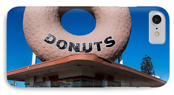 Randy's Donuts IPhone Case by Stephen Stookey