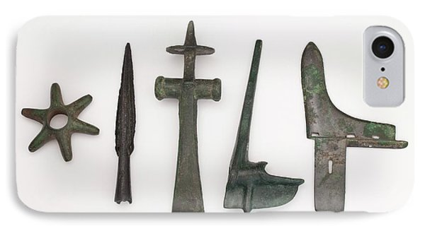 Range Of Global Bronze Age Weapons IPhone Case by Paul D Stewart