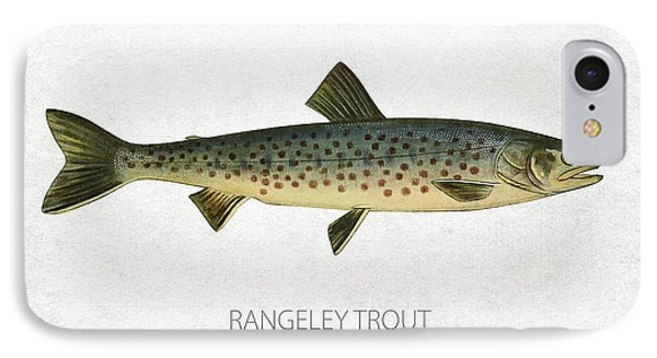 Rangeley Trout IPhone Case by Aged Pixel