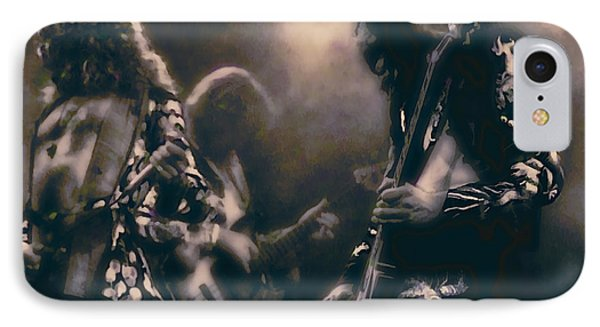 Raw Energy Of Led Zeppelin IPhone 7 Case by Daniel Hagerman