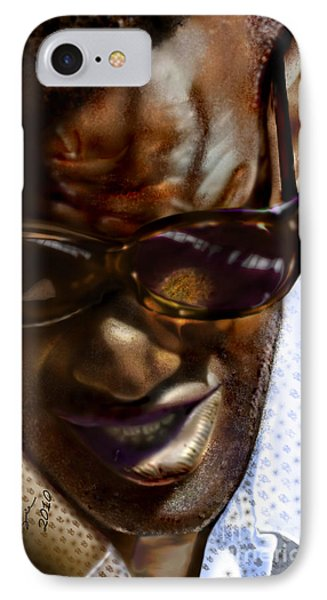 Ray Charles-beyond Sight 2 Phone Case by Reggie Duffie
