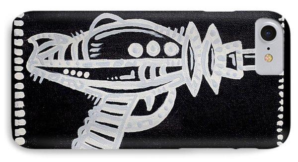 Ray Gun  IPhone Case by Josh Brown