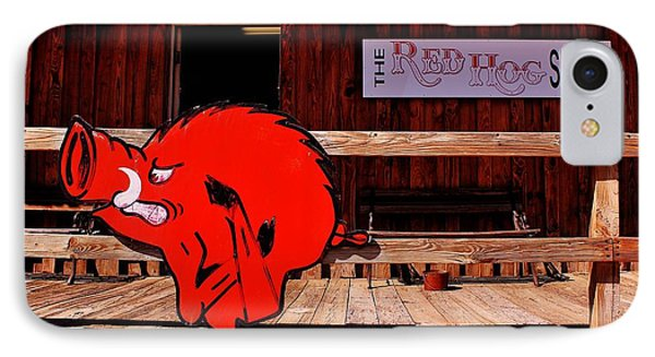 Razorback Country IPhone 7 Case by Benjamin Yeager