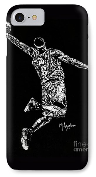 Reaching For Greatness #6 IPhone 7 Case by Maria Arango