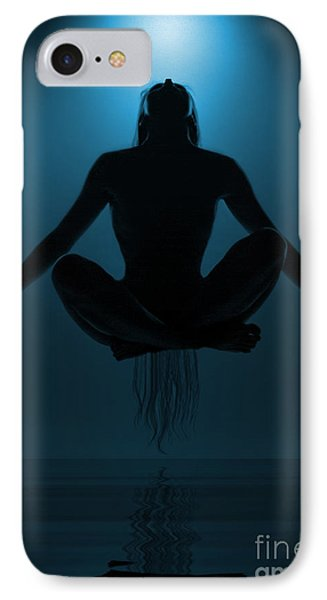 Reaching Nirvana.. IPhone Case by Nina Stavlund