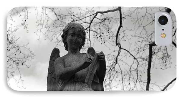 Reading Angel IPhone Case by Jennifer Ancker