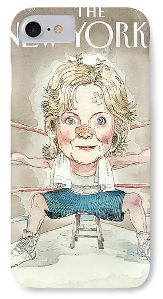 Ready For A Fight IPhone Case by Barry Blitt