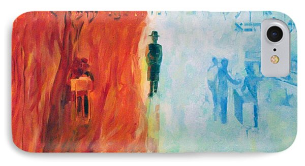 Rebbe Yehuda Ben Ilyai Said Phone Case by David Baruch Wolk