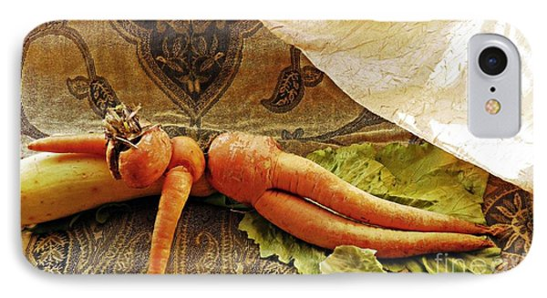 Reclining Nude Carrot IPhone Case by Sarah Loft