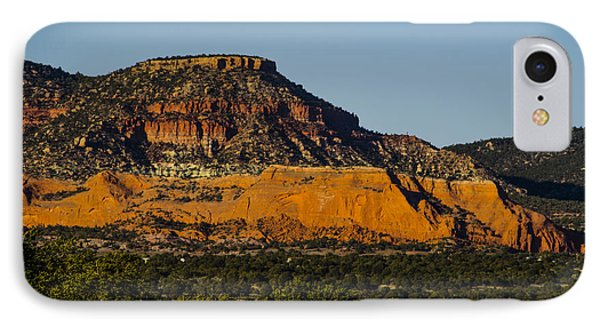 Red And Green Plateau New Mexico Phone Case by Deborah Smolinske