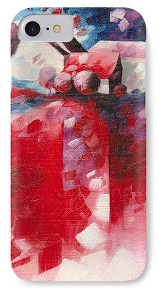 Red IPhone Case by Beatrice BEDEUR