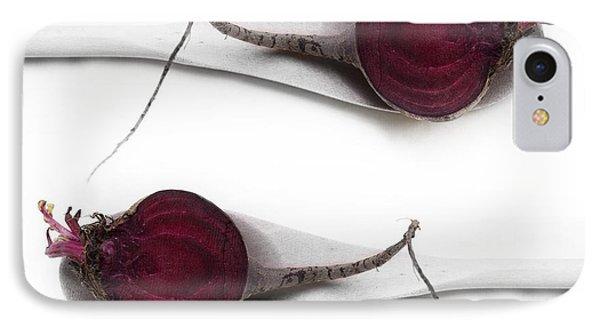 Red Beets Phone Case by Priska Wettstein