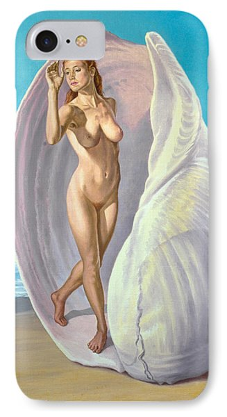 Red-haired Venus IPhone Case by Paul Krapf