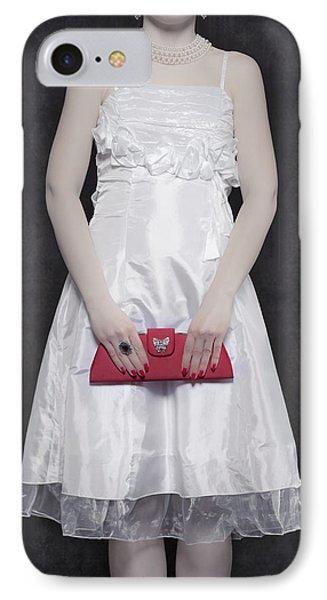 Red Handbag Phone Case by Joana Kruse