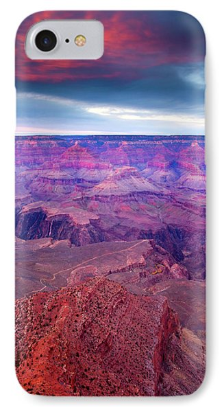 Red Rock Dusk IPhone Case by Mike  Dawson