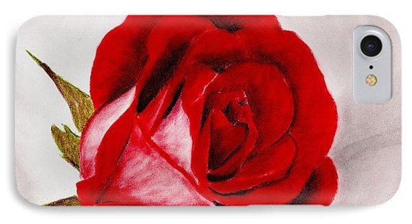 Red Rose IPhone Case by Anastasiya Malakhova