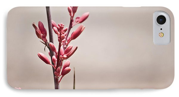 Red Yucca Phone Case by Swift Family