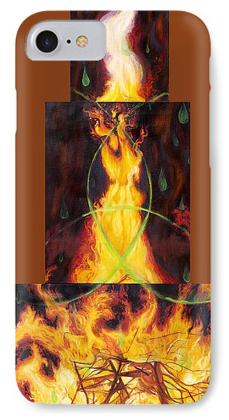 Refiners Fire Phone Case by Anne Cameron Cutri