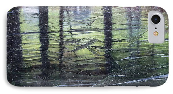 Reflecting On Transitions IPhone Case by Mary Amerman