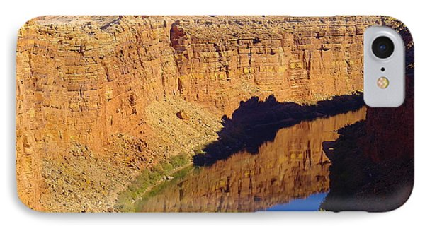 Reflections In The Colorado River IPhone Case by Jeff Swan