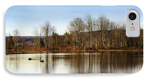 Reflections On Golden Pond Phone Case by Christina Rollo