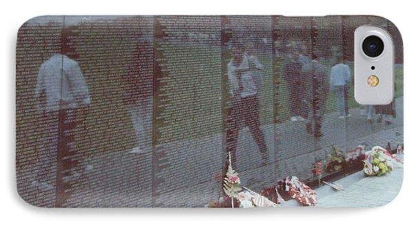 Reflections Vietnam Memorial Phone Case by Joann Renner