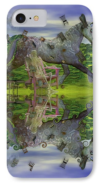 Reflective Oz IPhone Case by Betsy Knapp
