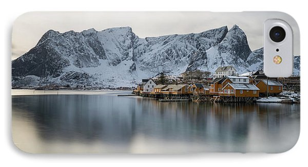 Reine And Sakrisoy Villages IPhone Case by Panoramic Images