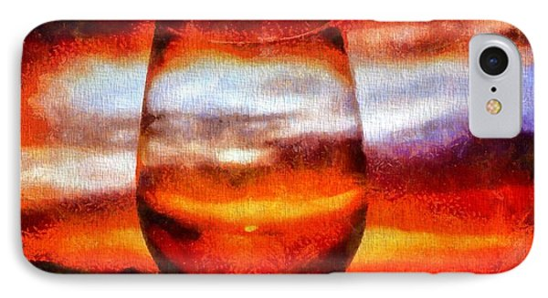 Relaxing Sunset IPhone Case by Dan Sproul
