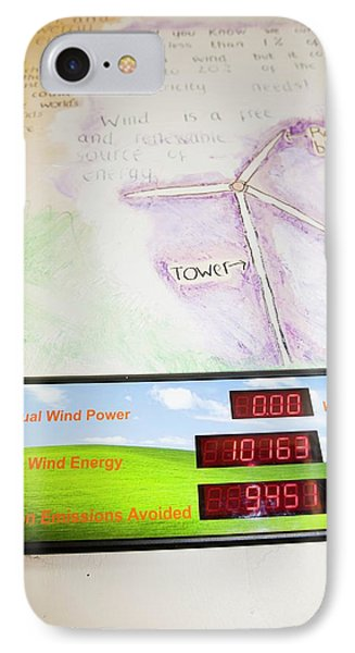 Renewable Energy Readouts IPhone Case by Ashley Cooper