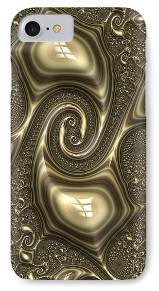Repousse In Bronze IPhone Case by John Edwards