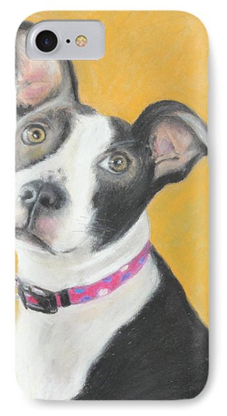 Rescued Pit Bull Phone Case by Jeanne Fischer